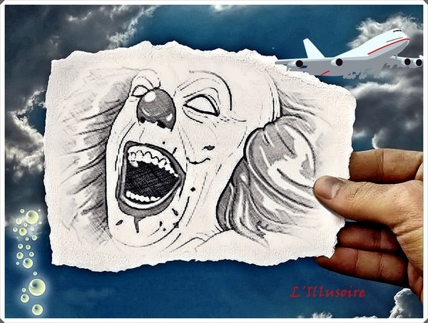 Clown Dessin Tag Clown